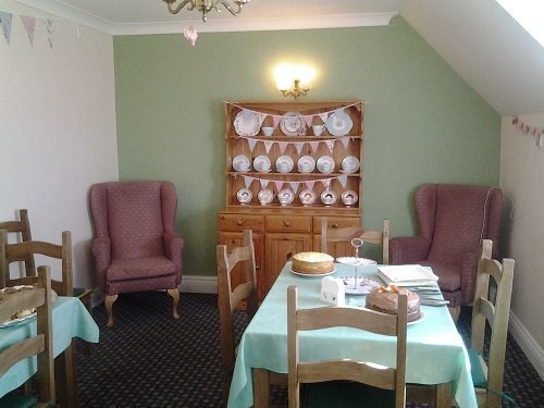 Our Tea room is the perfect place for residents to relax