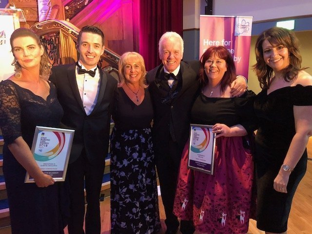Awards received by Runwood Homes staff at prestigious Staff Nursing Care Awards 2018