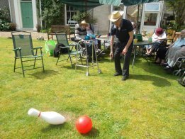 Residents take part in Giant Skittles