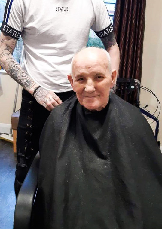 Residents at Oak Tree Manor in Dunmurry enjoy a lovely pamper day.