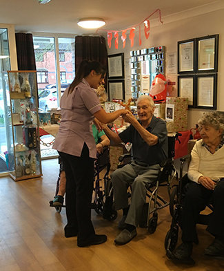 Residents at Park View have been getting into the Christmas spirit by getting involved in a number of festive activities.