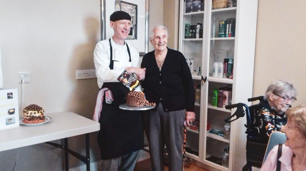 The Grange care home in Wickford, Essex, host friendly Bake Off competition.