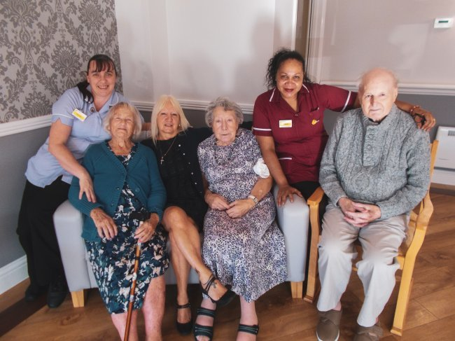 Kathryn Court in Shoeburyness, Essex, have been busy with lots of resident birthdays!