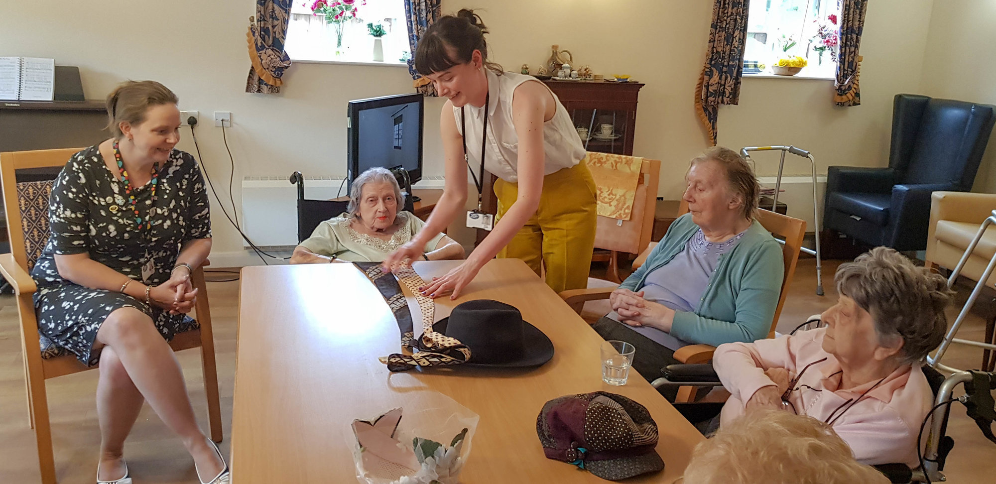 Runwood residents recollect in successful Boots Memory Box Workshops