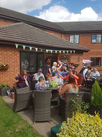 Summer Fair success at Maun View care and nursing home in Mansfield, Nottinghamshire