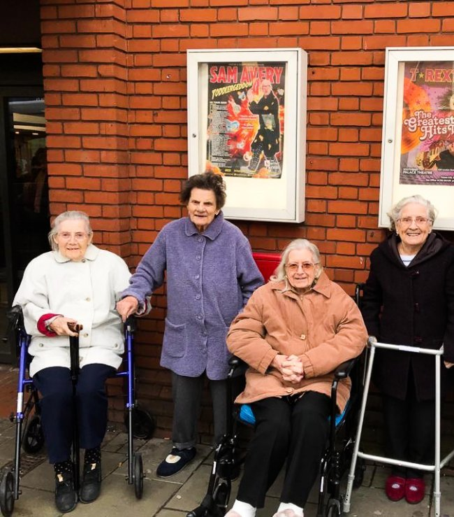 Staff and residents from Evelyn May House in Langdon Hills, Essex, took an exciting day trip out to the theatre in Southend-on-Sea.