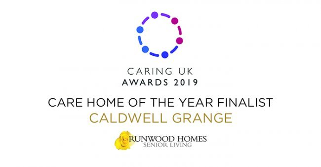 Caldwell Grange shortlisted for 2019 Caring UK Award