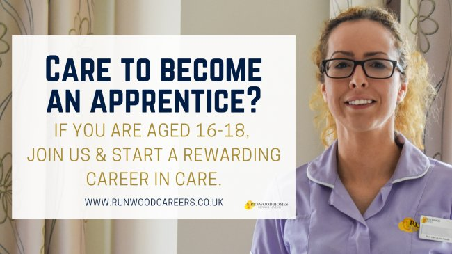 Did you know that we offer Apprenticeships to people aged 16-18?