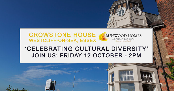 Celebrate cultural diversity at Crowstone House on 12 October