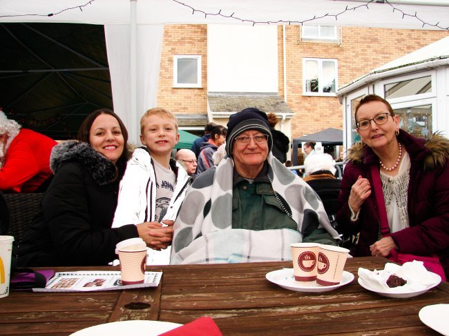 Madelayne Court held their first outdoor Christmas Cracker Fete.