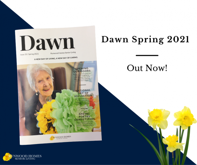 Our Dawn Magazine, Spring 2021 Edition, Out Now!