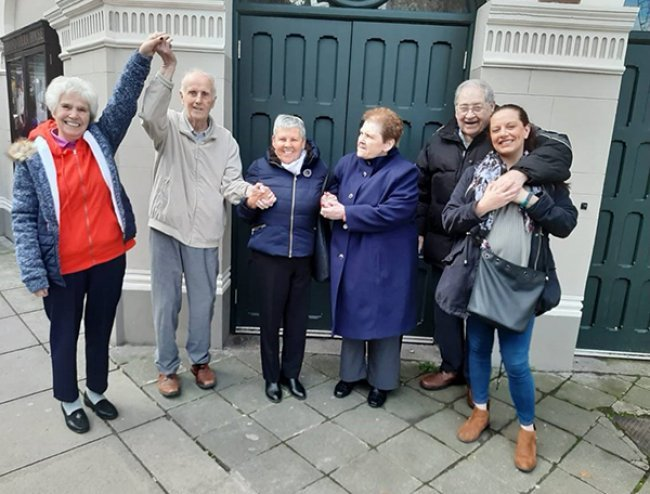 Dunmurry Manor residents enjoy a day out at The Grand Opera House Belfast