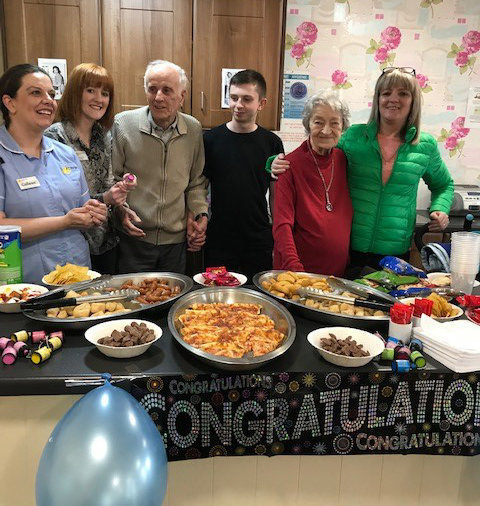 Dunmurry Manor celebrates great performance