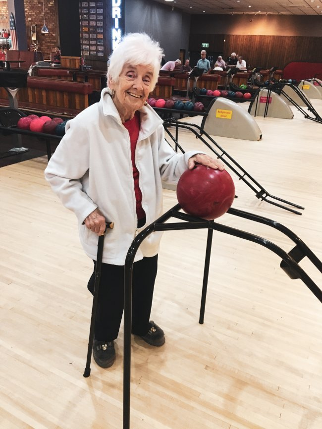 Residents at Silvanna Court in Wickford, Essex, had a brilliant time on one of their recent outings to the local bowling alley.