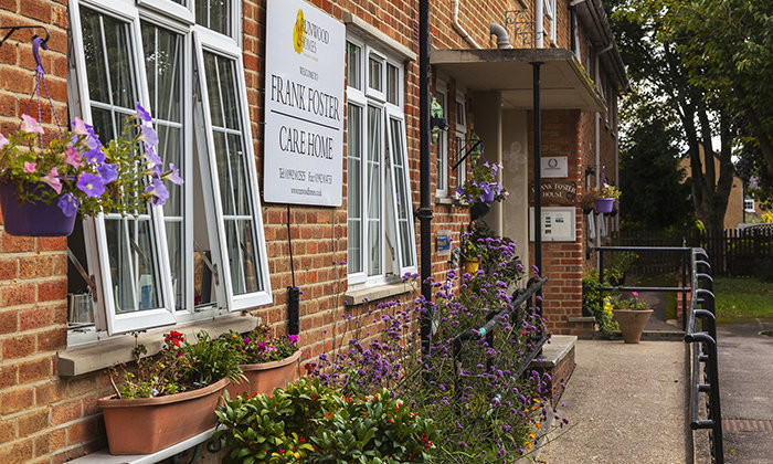 Frank Foster House shortlisted for 2018 Essex Care Sector Award