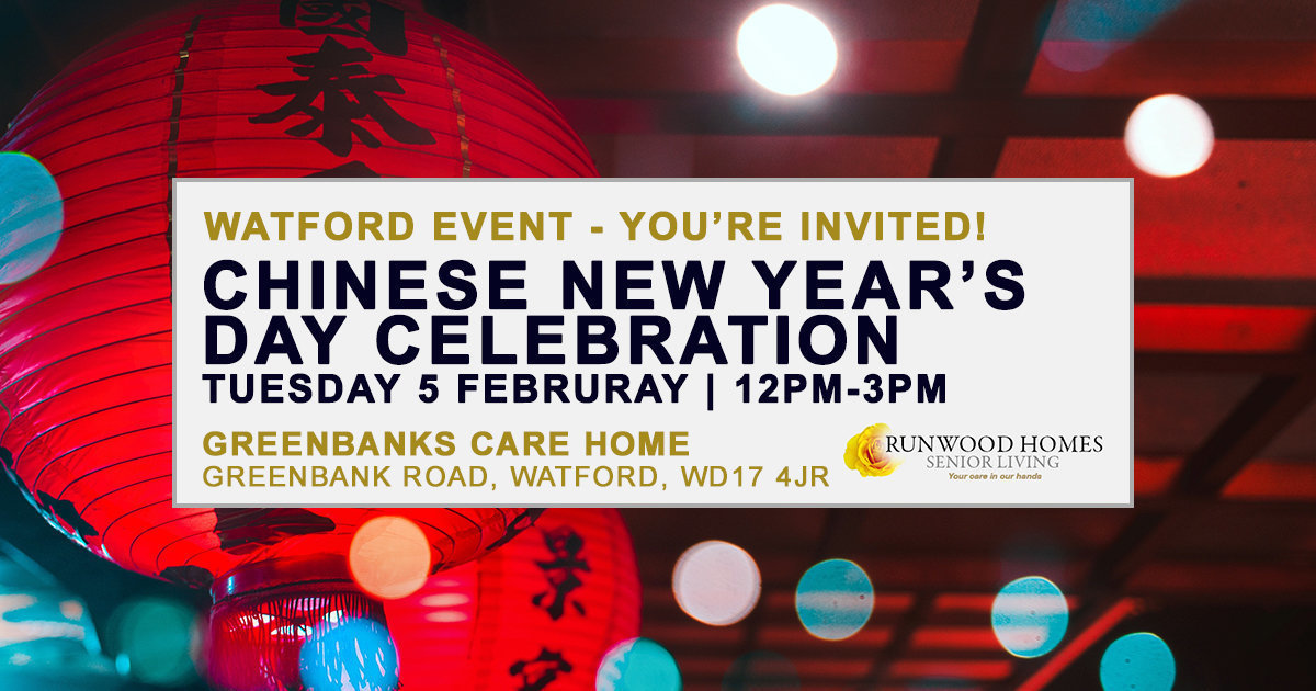 Chinese New Year Watford community event Greenbanks on Tuesday 5 February