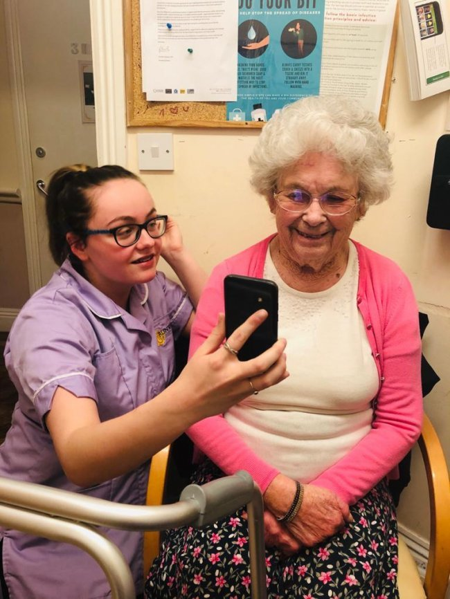 Maintaining contact and keeping active - see what our residents are getting up to!