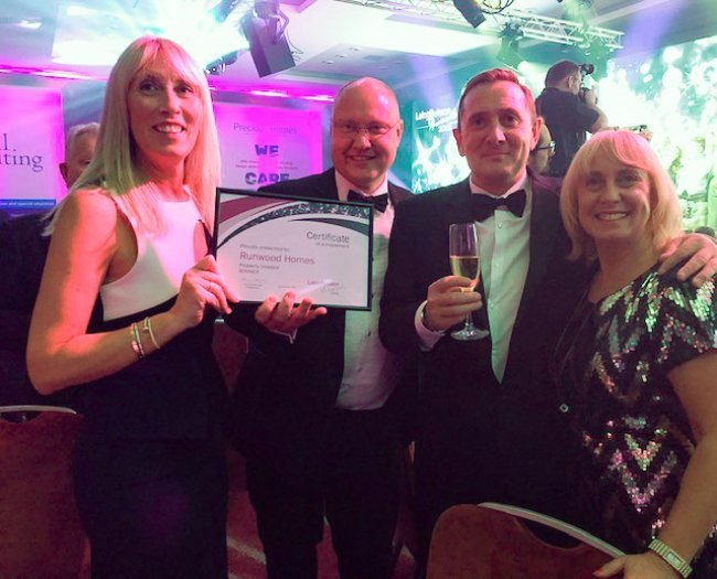 Runwood Homes wins Laing Buisson Property Investor Award!