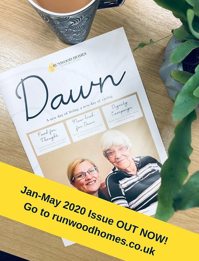 Runwood Homes has revamped in-house magazine, 'Dawn', and it's out now!