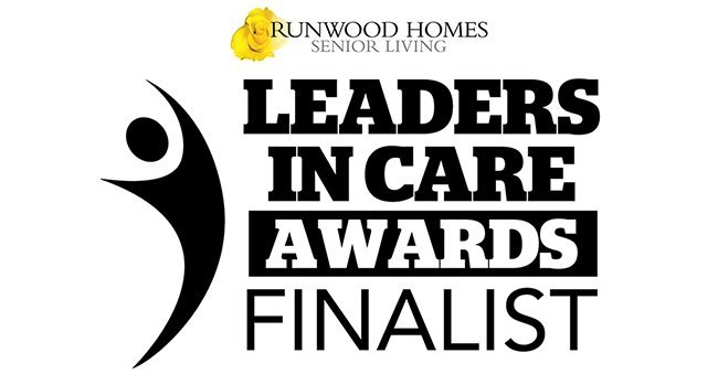 Runwood Homes' COO announced as Finalist for Leaders in Care Award