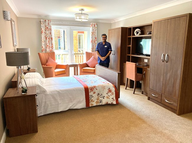 Leawood Manor care home unveils new extension
