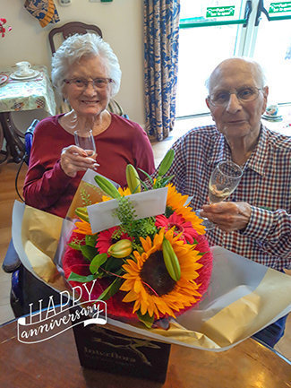 70th Wedding Anniversary celebrations at Leawood Manor