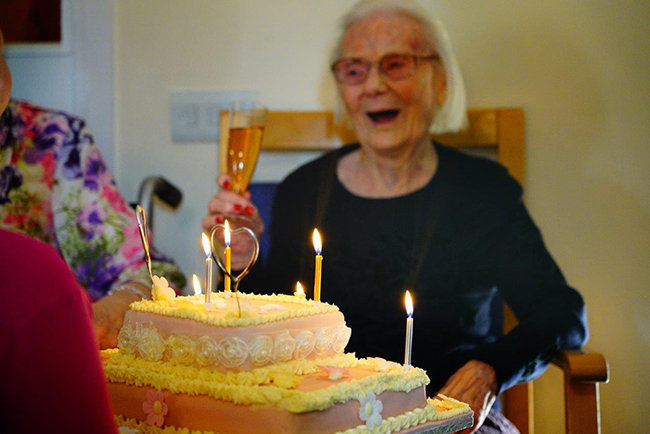 106th Birthday Celebrations at Leawood Manor