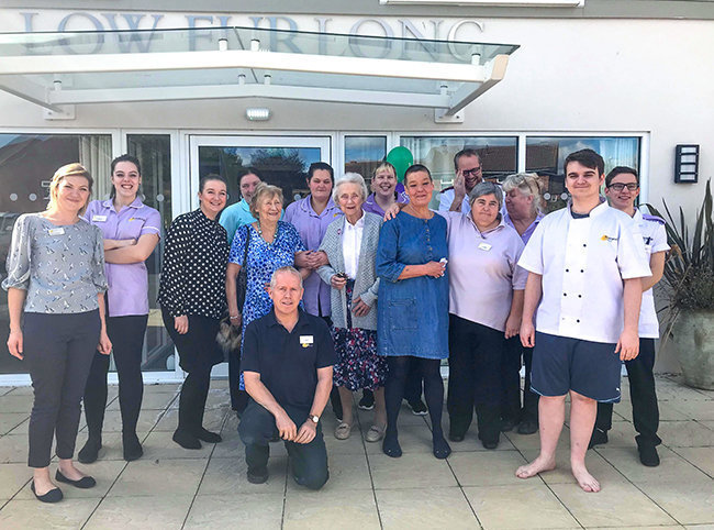Low Furlong staff 'Brave the Shave' for Macmillan Cancer Support