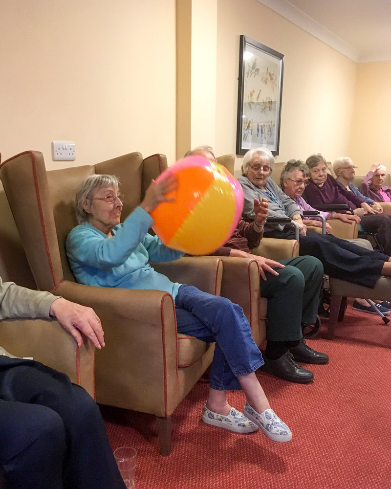 Recent activities at Park View in Warwick