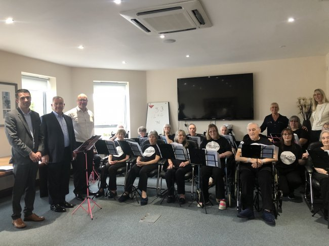 Head Office staff members were incredibly honoured to be visited by the wonderfully talented One Voice Choir from The Grange care home in Wickford, Essex.