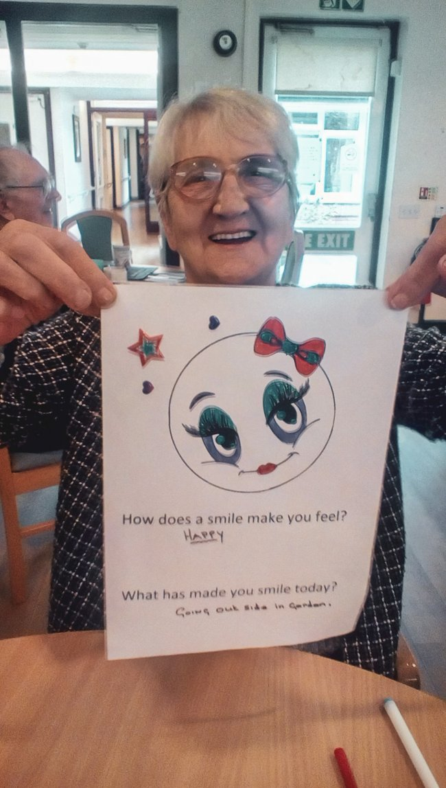 Orchard Blythe celebrate National Poetry Day and World Smile Day.