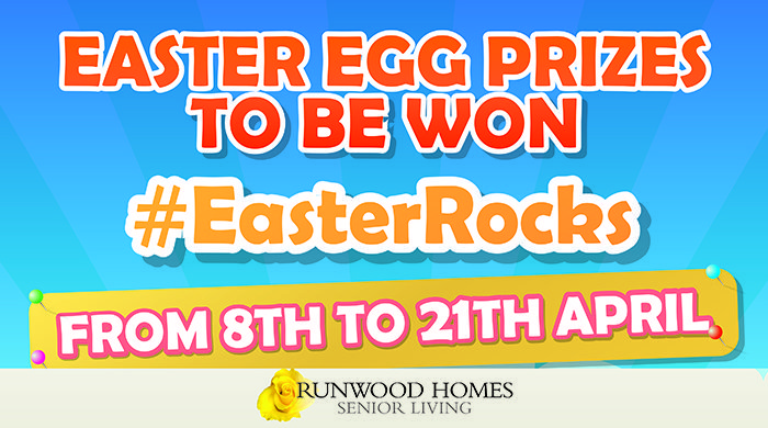 Runwood Homes Community Easter Egg Competition 2019 – #EasterRocks