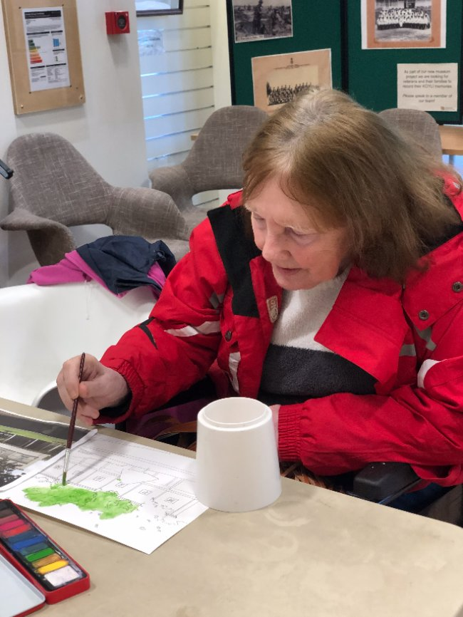 Residents at Rowena House visit Doncaster Museum for Dementia Session