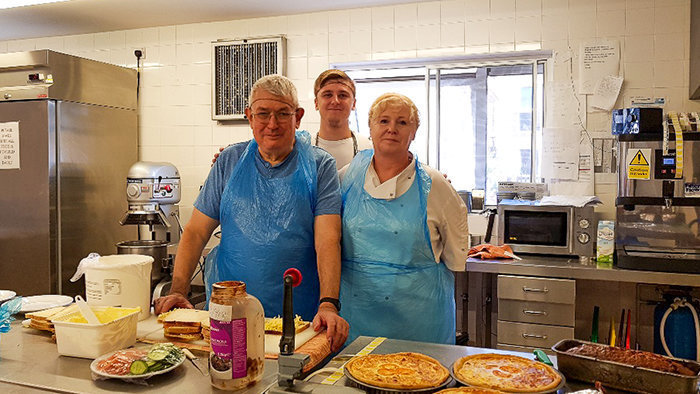 Resident becomes resident chef at Tallis House care home