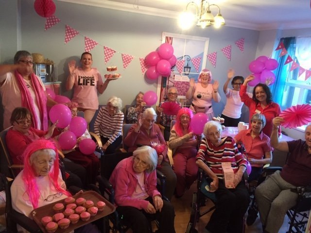 Runwood Homes' support Breast Cancer Now in #WearItPink campaign