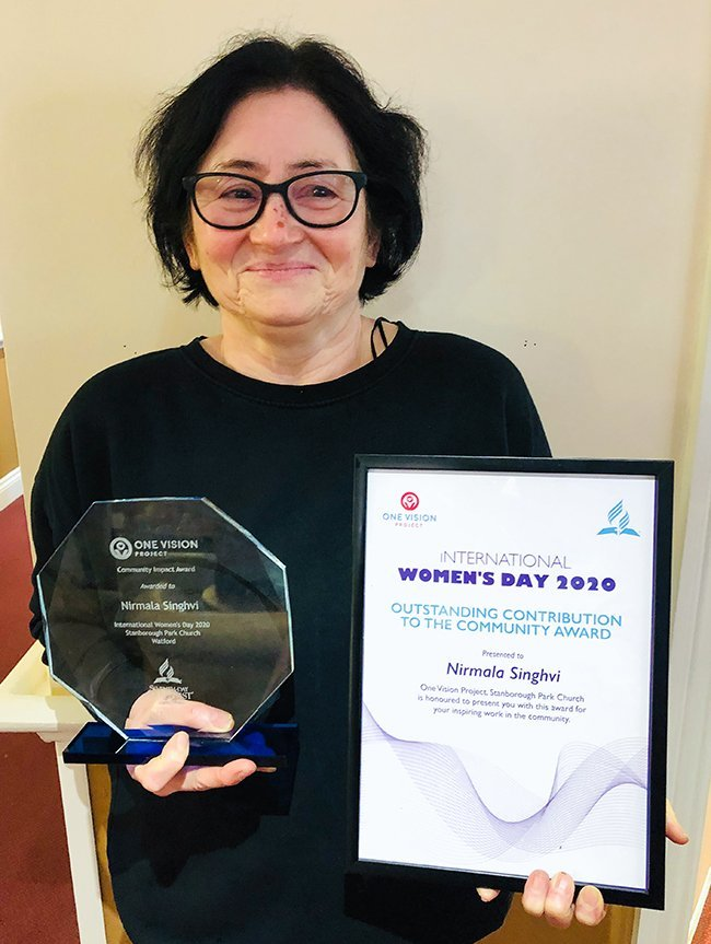 Victoria House manager receives Community Impact Award