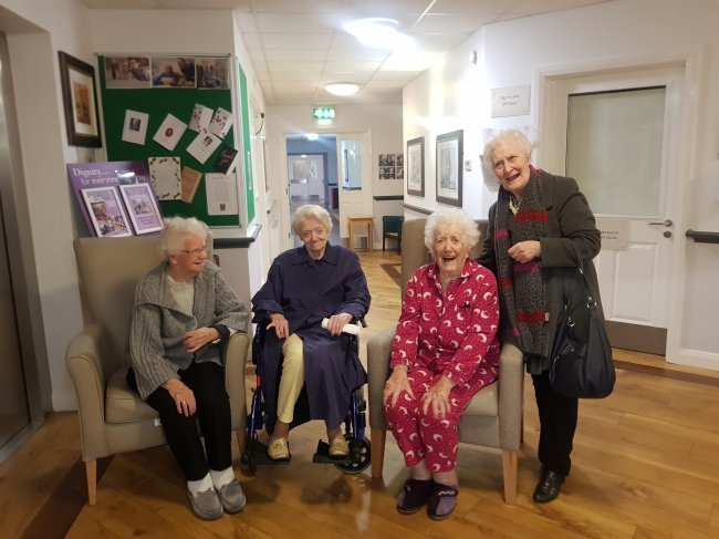 Home Manager at Weavers House accommodates residents to reunite three sisters.