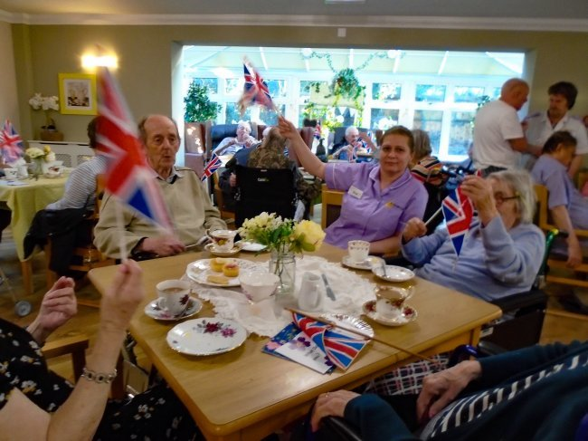 Residents, relatives and visitors from the local community were invited to join Windmill House for a Digni-Tea Party to mark 'Dignity In Care' Day.