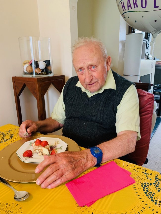 Harold Prior, resident at Jubilee Court in Nottinghamshire, recently celebrated his 88th birthday