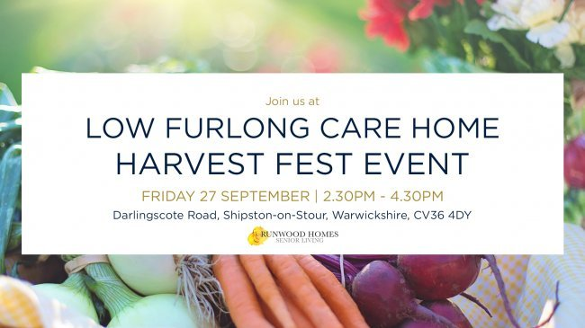 Low Furlong Harvest Festival Event - Join us on 27 Sept