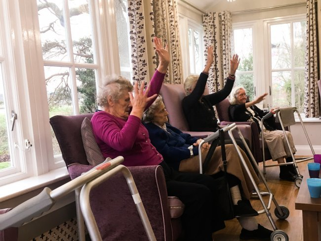 A brilliant update from Broomhills care home in Rochford, Essex!