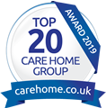 Carehome - Top 20 Group awards 2019