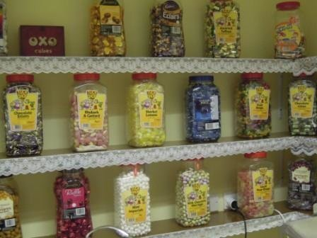 Residents are able to buy all sorts of sweets