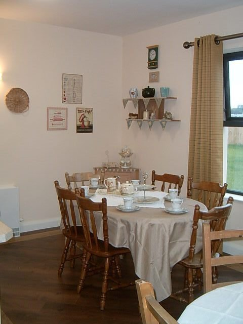 Interior of our vintage tea room