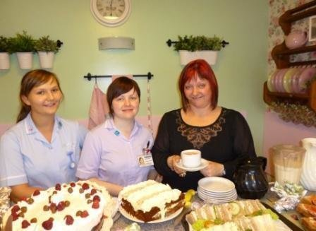 Kintullagh manager and her experienced staff enjoy tea and cake in our tea room